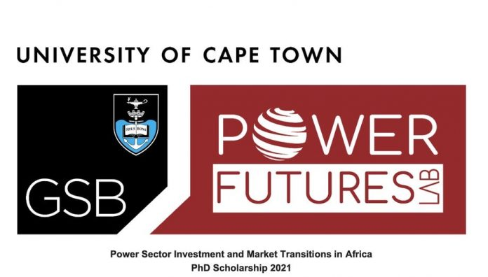 Power Sector Investment and Market Transitions in Africa 2021, University of Cape Town, Academic research training, International scholarships, PhD scholarship, Research scholarship, Academia, PhD, Doctoral, PhD degree, Scholarship application, Scholarship for students, Scholarship for graduate students