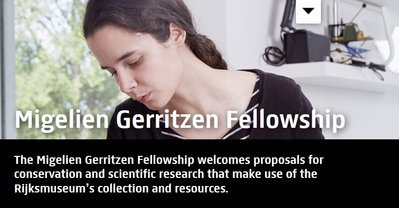 Migelien Gerritzen Fellowship for Conservation and Scientific Research, Fellowship Programs, Academic fellowship, Graduate fellowship Program, Academic opportunities, Academic Research, International fellowship, Fellowship for African students, Postgraduate fellowship, Rijksmuseum's collection and resources