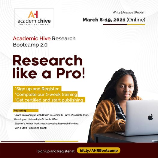 Academic Hive Research Bootcamp Second Edition 2021, Academic Hive Research Bootcamp, Academic Hive, Research Bootcamp, International opportunity, Opportunity for scholars, Opportunity for researchers, Research opportunity