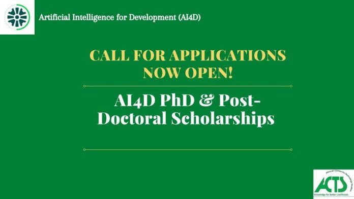 AI4D Scholarships for AI Ph.D. Students and Early Career Researchers 2021, Grants for Junior researchers, Doctoral students grant, International grants application, Call for application, Grants, an opportunity for graduate students, Academic-based research institutions, Universities in the least developed countries, Grants for Developing Countries, Grants for Sub-saharan Africans, International Development Research Center (IDRC), Swedish International Development Cooperation Agency (SIDA)