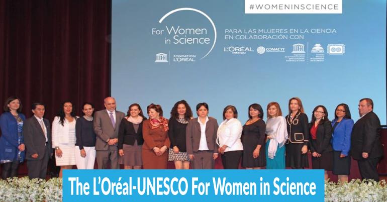 Call for nominations, L'ORÉAL-UNESCO International Women Awards, Academia, International award for women scientist, L'ORÉAL-UNESCO Awards, International Awards, Awards for women