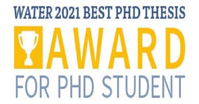 outstanding performance, special mention, Best thesis award, an international award, a special award