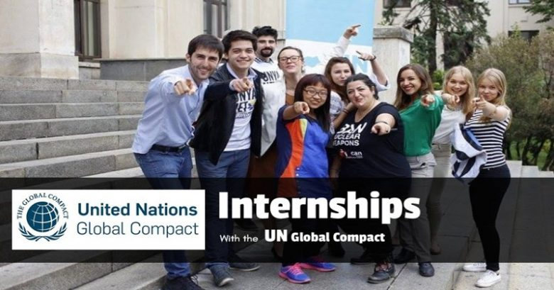 Global Compact, United Nations Global Compact Internship opportunity in New York, virtual internship, remote internships, internship program, summer internship