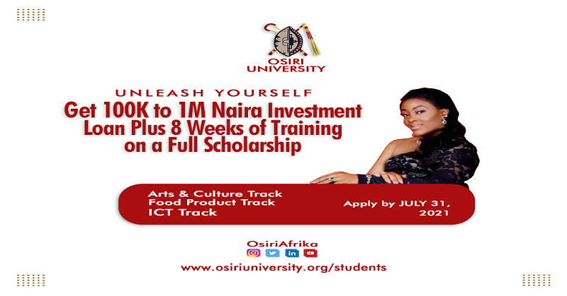 Unleash Yourself: A Translational Education through a Decolonized Curriculum, call for applications, international program, Osiri university, international scholarship