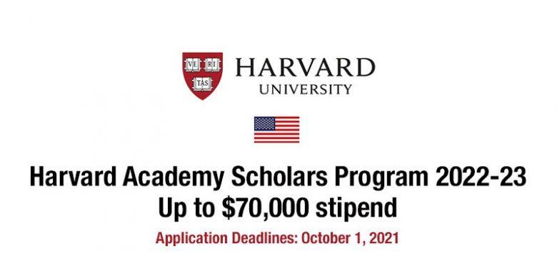 The Harvard Academy for International and Area Studies Postdoctoral Fellowship2022/23, Fellowship applications, postdoctoral fellowship, Opportunities for scholars, Scholar's fellowship, Postdoc fellowship, Doctoral fellowship