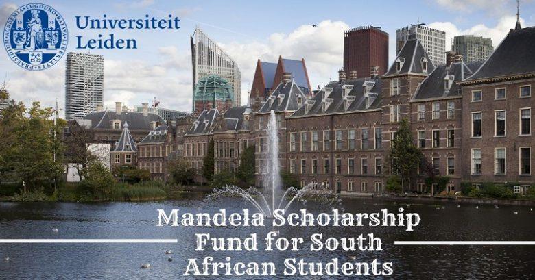 Leiden University Mandela Scholarships for South African Students 2021/22, student Scholarship application, International scholarship, Postgraduate Scholarship, Scholarship for international students, International scholarships