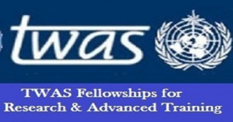 TWAS Fellowships for Research and Advanced Training for young Scientist in Developing Countries, Fellowship applications, fellowship for young scientists, Opportunities for scholars, Scholar's fellowship, Postgraduate fellowship, Doctoral fellowship