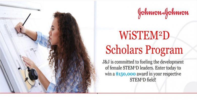The WiSTEM2D Scholars Award Program ($150,000), Award of outstanding performance, Award of acknowledgments, Award of recognition, STEM award, Award for outstanding women